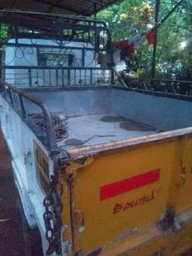 Vikram 750d cabin & loading box