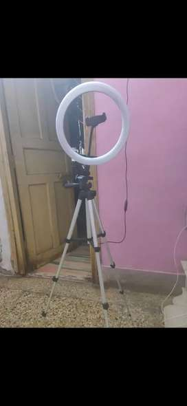 Ring light just little used 1-2 time in a very good condition
