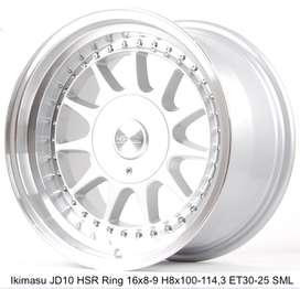 IKIMASU JD10 HSR R16X8/9 H8X100-114,3 ET30/25 SMLmtr