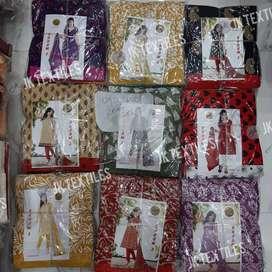 Crape Print Suit's Dress Material