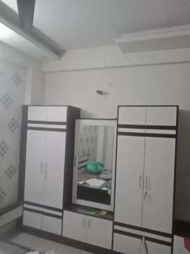 3bhk premium quality semi furnished flat at krishnapuri near man.metro