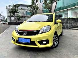 [OLX Autos] Honda Brio Satya 1.2 E Bensin A/T 2018 Kuning #FelixAuto