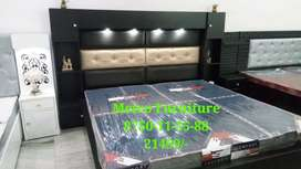 New Self Designed Double Bed at Factory Rate