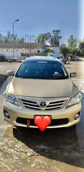 Toyota Corolla Altis  2014 model Available on easy installment policy