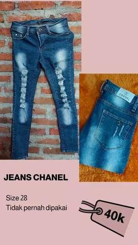 PL Celana Jeans Chanel