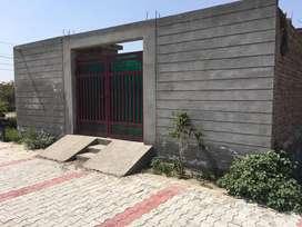 On-Sale Semi-construction house in krishna Enclave (5.5 marla)