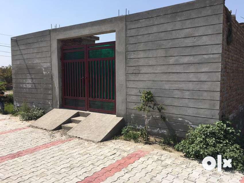On-Sale Semi-construction house in krishna Enclave (5.5 marla) 0