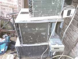 Ac repring job...Ac installation uh job...