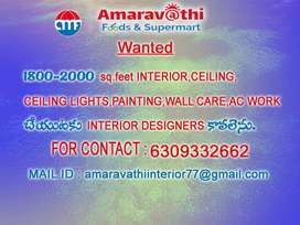 WANTED INTERIOR DESIGNERS AND A.C WORKERS