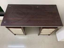 Study/ Office Table with wooden top