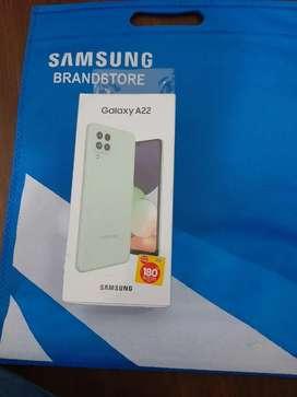 Samsung a22 ram 6/128 sdh super amoled