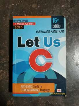 Let Us C with Let Us Solution 15th Edition