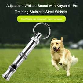 Peluit Ultrasonic Silver Untuk Melatih Burung Anjing Kucing