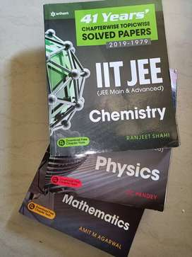 Arihant JEE Mains + Advanced 41 Years PYQs Set PCM