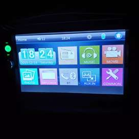 Head unit double din 2 din bluetooth usb touch screen