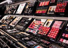 Sales girl required for cosmetic,s shop