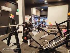 Gym Equipments set up