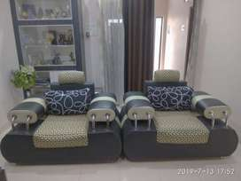 Sofa set - 3 + 1 + 1 for sale