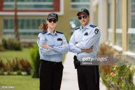 Security guard, officer and bounsar