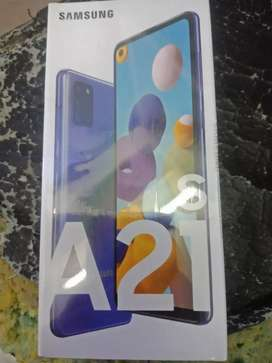 Samsung a21s 6/64 new