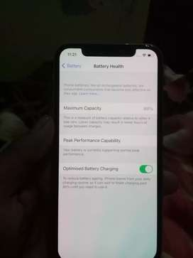 iphone x 64 gb non pta  bttr helth 89