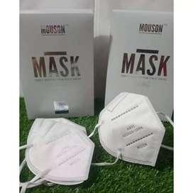Masker KN95 Mouson isi 50pcs