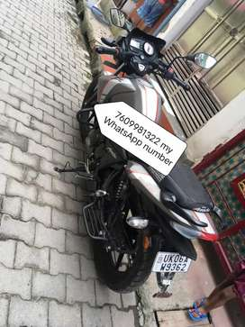 Old model bike Apache 2019 model