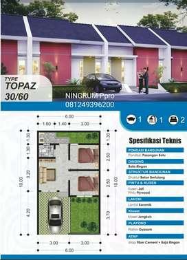 Rumah Murah Non Subsidi dijual di Bantul