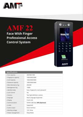 AMF 22 Face With Fingerprint Professional Access Control System