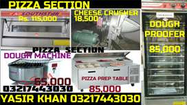PIZZA TUBE FRYERS COUNTER HOOD DUCTING SINK TABLE BURNER CHULHA GRILL