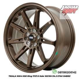 Velg Racing Mobil Ertiga, CR-V Ring 17x7 H5x114,3 *HSR Wheel*