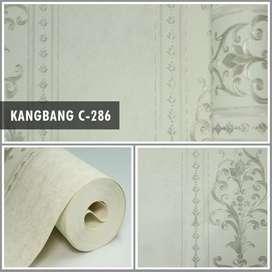 Wallpaper dinding premium timbul