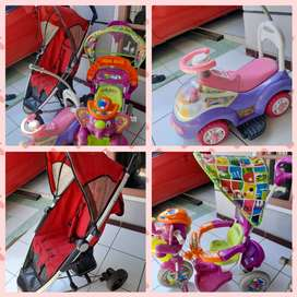 Beli Stroller Babyelle gratis sepeda roda 3 Royal dan mobilan Family