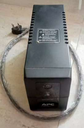 UPS APC 600VA...   Selling Price: 2500/-