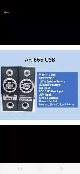 PROMO Speaker Aktif Profotex AR 6661 Bluetooth
