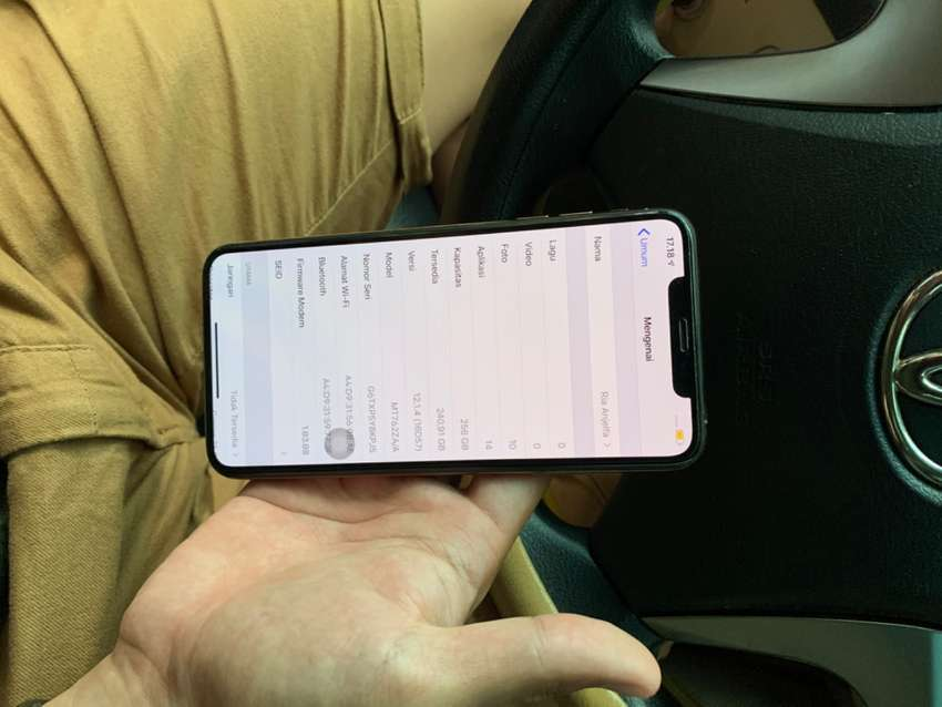IPHONE XS MAX 256GB 0