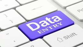 Part time work for home job Data entry