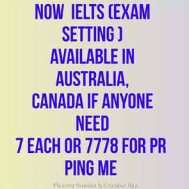 Now get IELTS score as per your need no need to sit in exam's