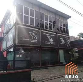 Dijual bangunan kantor 3 lantai, di Cangkringan 3mnt ke Jogja - Solo