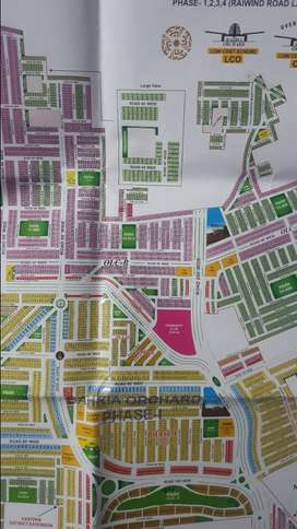 5 Marla plot for sale in OLC B, Bahria Orchard Lahore