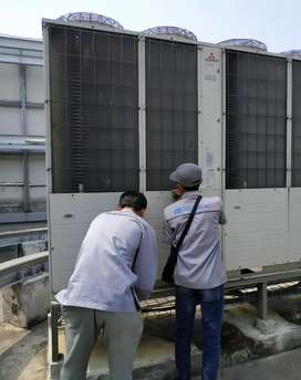 Jasa service ac, chiler, seplit duct, water line, air drayer dll
