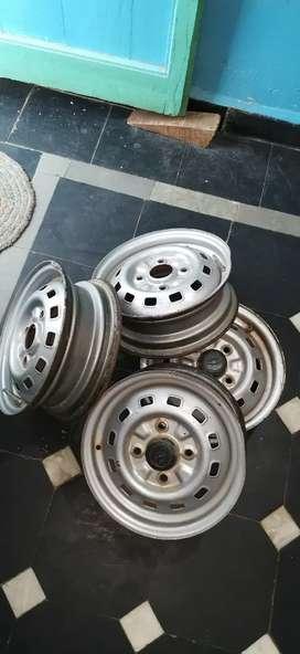Car wheels aluminium