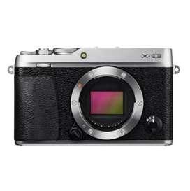 Fuji X-E3 With Lensa 15-45mm Gratis Admin Kredit tanpa CC
