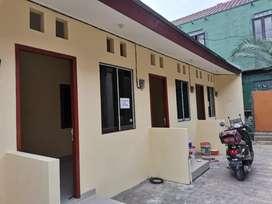 Rumah petak baru ruang tamu kamar dapur