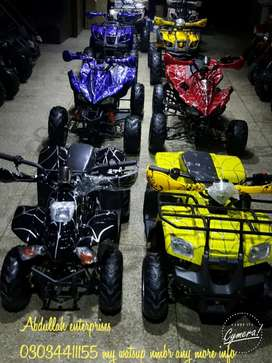 Super petrol bikes atv quad 4wheels delivery all pakistan