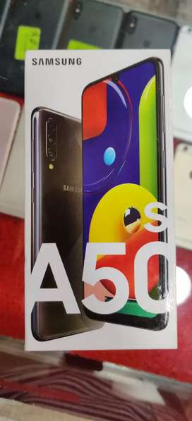 SAMSUNG A50S (4/128) 1 YEAR WARRANTY...