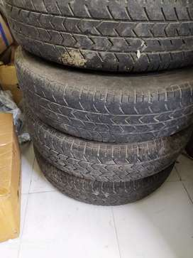 Jk tyre with good running condition
