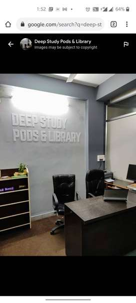Deep Study Pods And Library (Only Female)