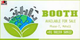 For Sale  : Booth In Phase 3B2, Mohali