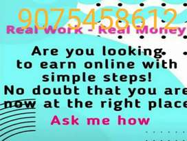 Part time /full time home based work no target/ limited vacancy